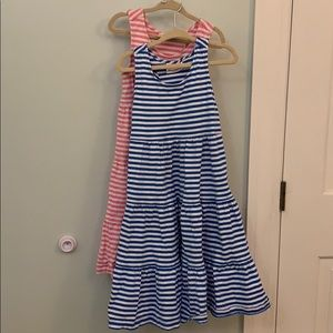 Hanna Anderson twirl tank top dresses